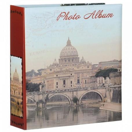 EN.38812 Фотоальбом с картонной обложкой, крепление на гребне 'Рим' 10листов 26х29см