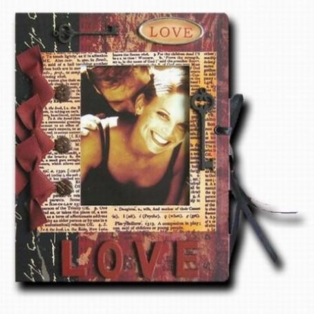Фотоальбом Маленький арт.JX-L 018 love 21x16,5 см