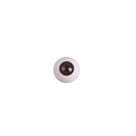 Глаза арт. TBY.TR-14 без ресниц цв. коричневый упак 100шт.