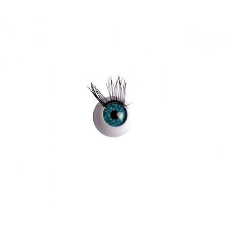 Глаза арт. TBY.TR-14 с ресницами цв. бирюза