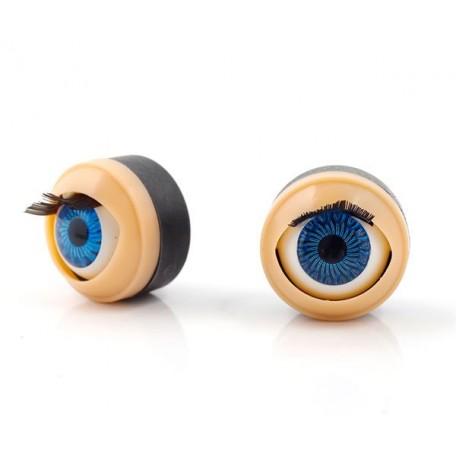 Глаза бегающие (моргающие) TBY 178 цв.синий упак 200шт.