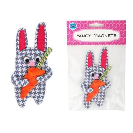 Игольница-магнит РТО МРА арт.01 'Заяц с морковкой' 6 x 12 см