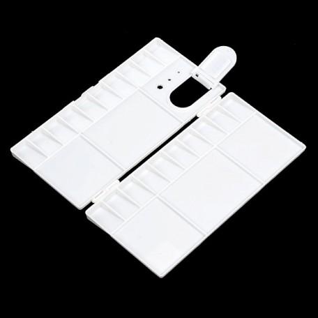PNX.PF-1121 Палитра пластиковая с крышкой и ячейками для кювет, малая