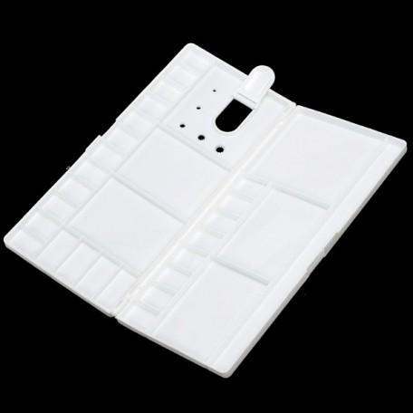 PNX.PF-1431 Палитра пластиковая с крышкой и ячейками для кювет, большая