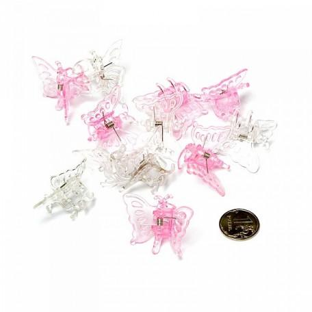 Клипса для фиксации растений арт.DF.12631216/9527 Бабочка 12шт