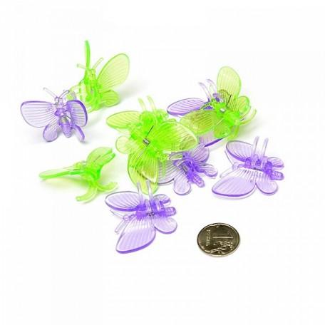 Клипса для фиксации растений арт.DF.12631217/9439 Бабочка 10шт