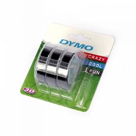 Лента OMEGA арт.DYMO-12745/S0847730 для механ принтеров 9ммх3м цв.черный