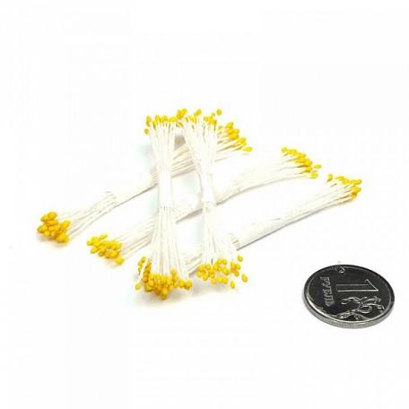 FL.T-0001 FLEUR Тычинки цв желтый уп.5шт