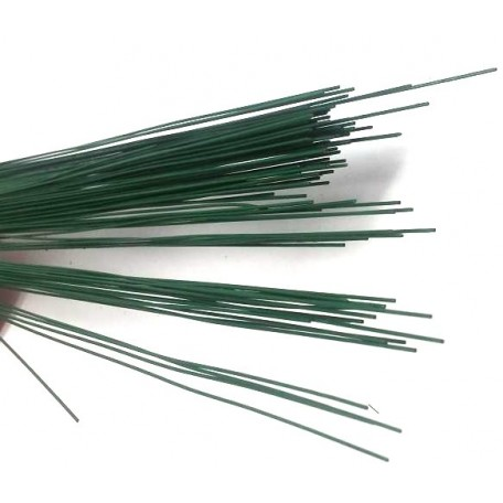 Герберная проволока цв.зеленый 0,7мм 40см уп.1кг
