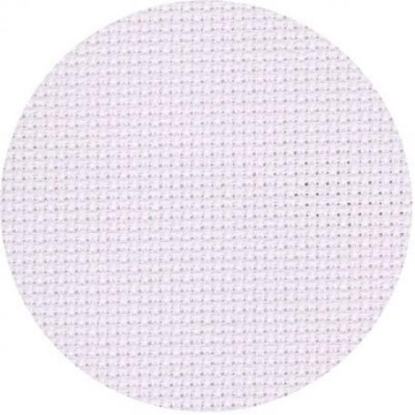 Канва 'Zweigart' Aida арт.3251 упак.48х53 (10смх64кл) цв.100 белый