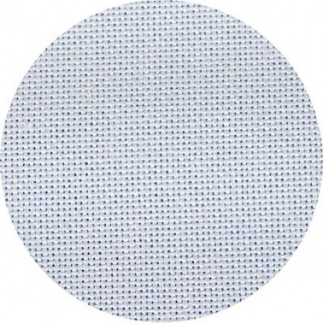 Канва 'Zweigart' Lugana арт.3835 упак.48х68 (10смх100кл) цв.513 св.голубой