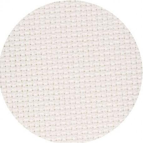 Канва 'Zweigart' Stern-Aida арт.3706 упак.48х53 (10смх54кл) цв.101 молочный