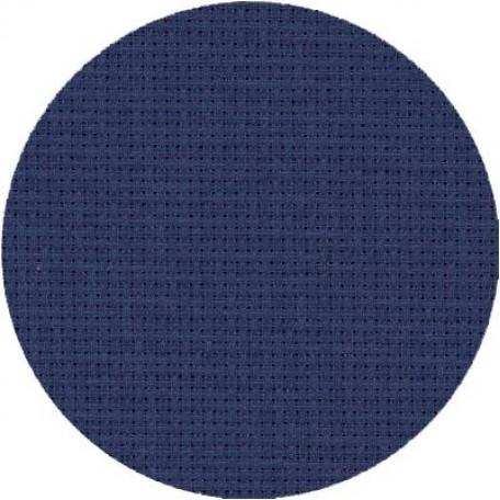 Канва 'Zweigart' Stern-Aida арт.3706 упак.48х53 (10смх54кл) цв.589 синий
