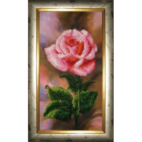 Набор для вышивания бисером 'КАРТИНЫ БИСЕРОМ' арт.Р-004 Королева Цветов 16х29см