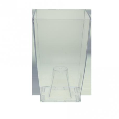 FPL.016076 Кашпо пласт. Финезиа d12,5 h19,5 см прозрачный