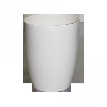 FPL.037991 DUOW130 Кашпо орхидея круглая d13 h16см 1,4 л цв.белый