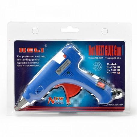 Пистолет клеевой арт.ШМ.КЛП.20WA d 7.2 мм