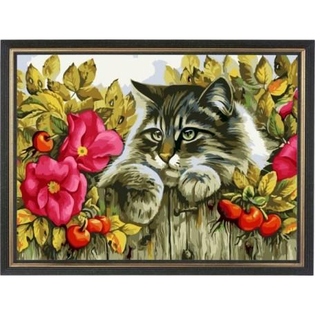 Набор 'Колор Кит' картина по номерам арт.КК.AM015 Сосед по даче 30х40