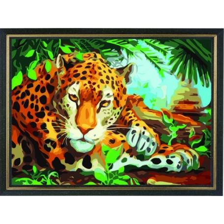 Набор 'Колор Кит' картина по номерам арт.КК.AM024 Хранитель джунглей 30х40