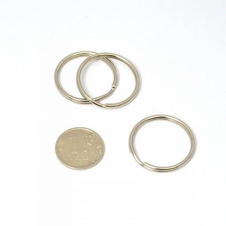 Кольцо металлическое двойное D=26 уп. 100 шт. А