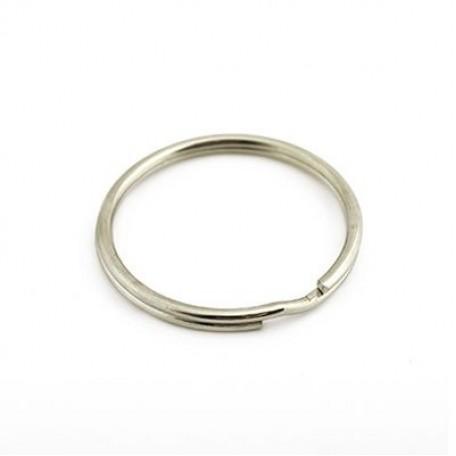 Кольцо металлическое двойное D=30 уп. 100 шт. А