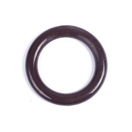 Кольцо пластик D=34 цв.т.коричневый уп. 50 шт. А