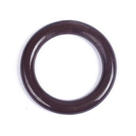 Кольцо пластик D=42 цв.т.коричневый уп. 50 шт.