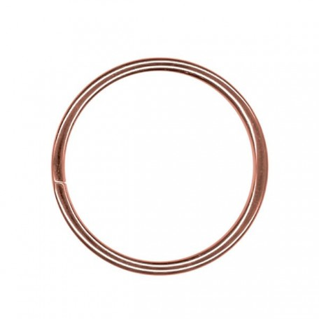 Кольцо металлическое арт.TSW 35мм (Тпр-3мм) цв.антик фас.100шт