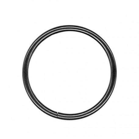 Кольцо металлическое арт.TSW 35мм (Тпр-3мм) цв.черный никель фас.100шт