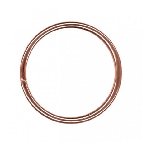 Кольцо металлическое арт.TSW 40мм (Тпр-3мм) цв.антик фас.100шт
