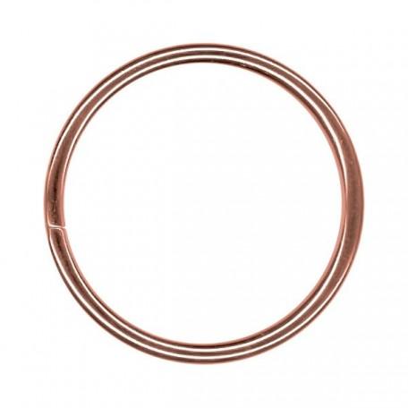 Кольцо металлическое арт.TSW 50мм (Тпр-3мм) цв.антик фас.100шт