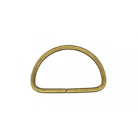 Полукольцо металлическое арт.TSW 10мм (Тпр-1,6мм) цв.антик фас.1000шт
