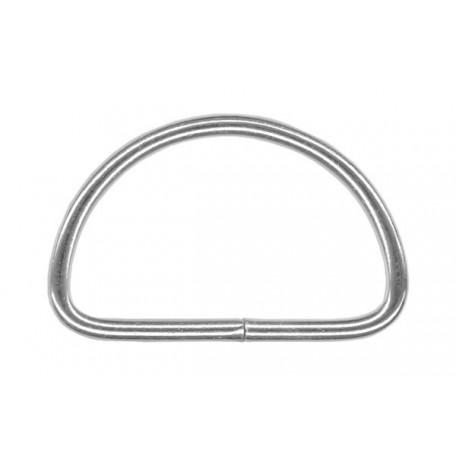 Полукольцо металлическое арт.TSW 35мм (Тпр-2,5мм) цв.никель фас.500шт