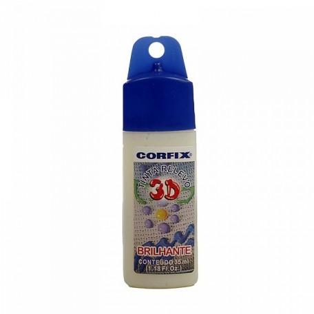 CFX.14400.300 Corfix Контур 3D Brilliant глянц. 300 бесцвет 35 мл