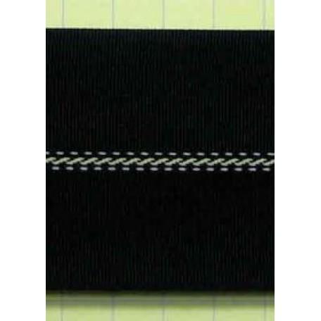 Корсаж брючный 5с-616 52мм цв. черный/белый