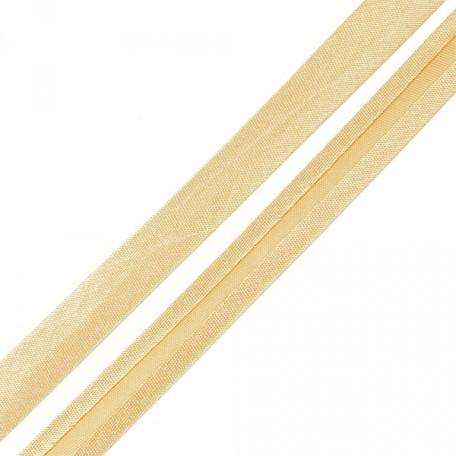Косая бейка,атлас.15мм арт.КБ.15.118 цв.118 песочный A