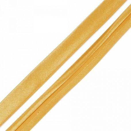 Косая бейка,атлас.15мм арт.КБ.15.123 цв.123 бл.коричневый A