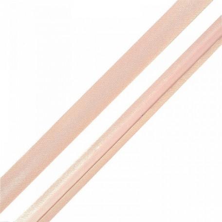 Косая бейка,атлас.15мм арт.КБ.15.132 цв.6377 (132) пастельно-розовый A