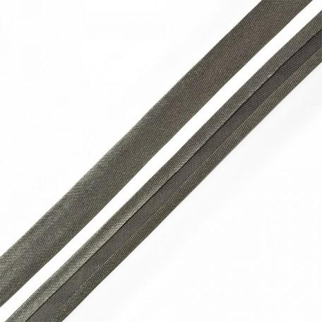 Косая бейка,атлас, шир.16 мм 5/8' цв.120 т.серый АКЦИЯ!!!