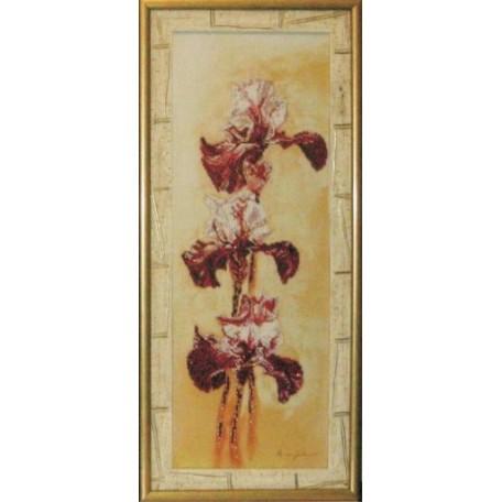 Набор для вышивания бисером 'КРАСА И ТВОРЧЕСТВО' арт.10209 'Романтика 1' 57,5х20,5 см
