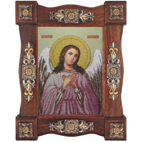 Набор для вышивания бисером 'КРАСА И ТВОРЧЕСТВО' арт.10310 'Ангел хранитель' 24х33 см