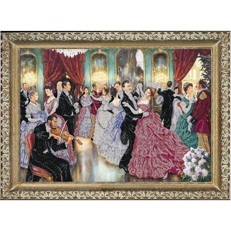 Набор для вышивания бисером 'КРАСА И ТВОРЧЕСТВО' арт.10316 'Средь шумного бала...'