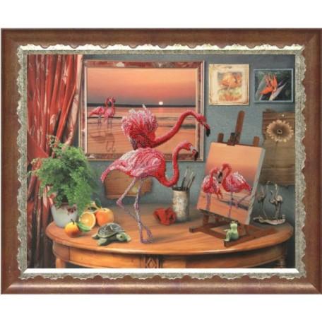 Набор для вышивания бисером 'КРАСА И ТВОРЧЕСТВО' арт.10511 'Фантазии моря' 47х59 см