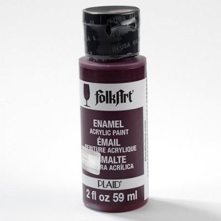 PLD-04007 Эмалевая акрил.краска FolkArt Enamels вин.ягоды, 59 мл