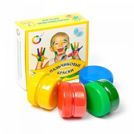 Краски пальчиковые арт.ЭП.91-4.60-00 4цв 60мл