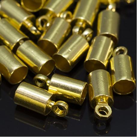 Концевики Для Шнура арт. МБ.УТ18556 цв.золото 9,5х4 мм 20шт
