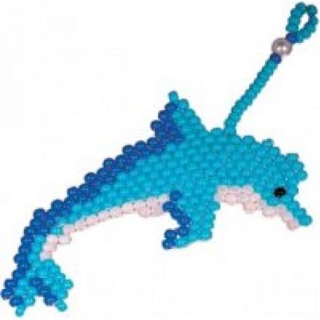 Набор для бисероплетения арт.КР- 62 Брелок 'Дельфин'