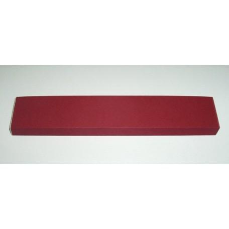 Бумага для изготовления листьев, вишневый, ширина 30 мм арт.5212730165