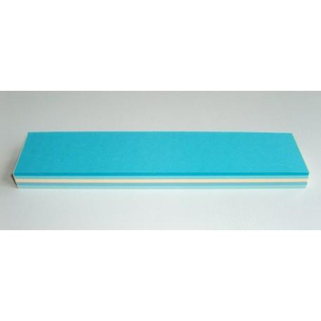 Бумага для изготовления листьев, зима микс, ширина 30 мм арт.5352030148