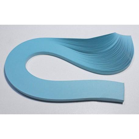 Бумага для квиллинга 01-02, голубой, пастельный, ширина 5 мм арт.3303205300